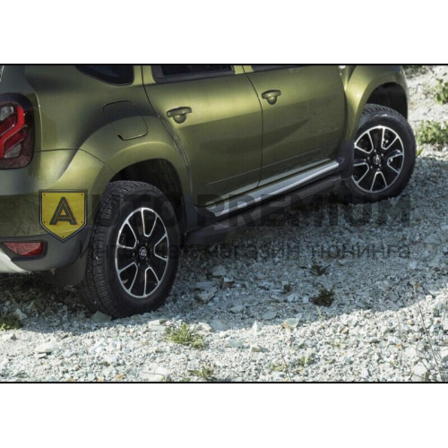Пороги на Renault Duster (2012-2015-...) Black Start